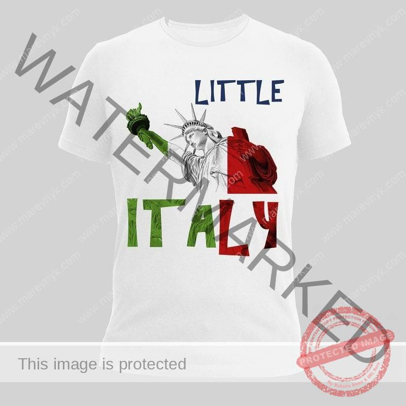 Tshirt Marëvnyk little italy
