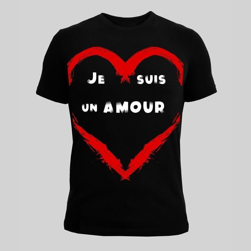 Tshirt Marëvnyk Un Amour
