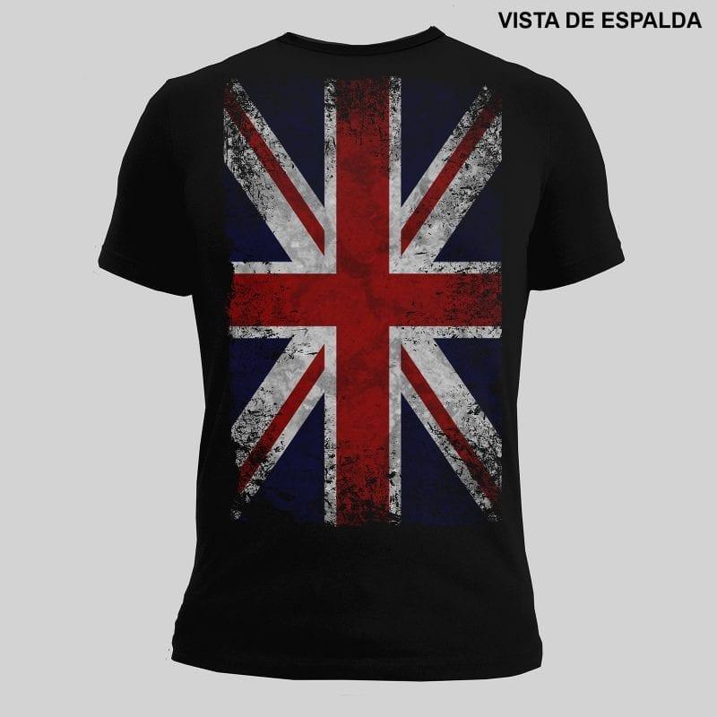 Tshirt Marëvnyk Britannia espalda